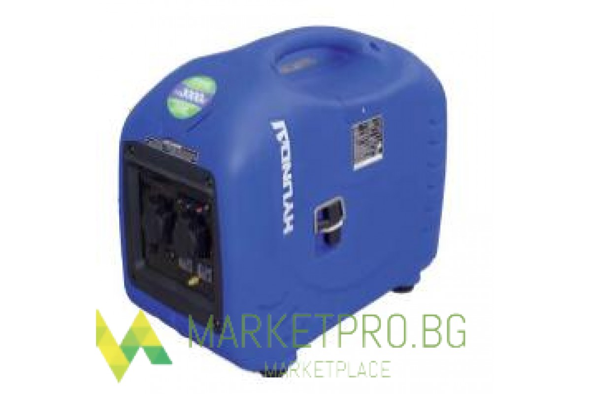 Инверторен мотогенератор HY1000 SI - 1,0 кW HYUNDAI-2 години гаранция - 08010