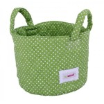Diaper storage boxes and baskets