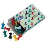 Pins, tweezers and tongs