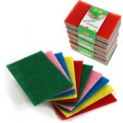 Household sponges and towels