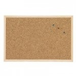 Cork and textile panels