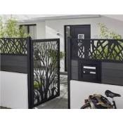 Garden fences and gates