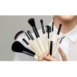 Applicators and makeup brushes