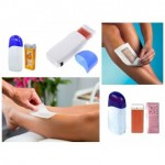 Wax mask, strips and creams for hair removal