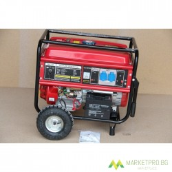 ГЕНЕРАТОР ЗА ТОК Vion Pro-V- 6.5 KW монофазен -бензинов - ел.старт- 1 година гаранция