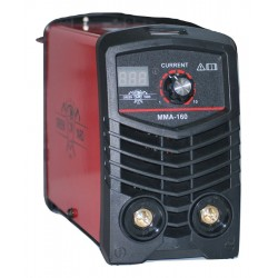Inverter electric Greenyard - IGBT - MMA 160A real amps with digital display - electrodes 1 mm to 4 mm - 1 year warranty